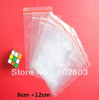 8*12cm  Beat light Retail package bag plastic packing bag Zipper bag 500 pcs/lot