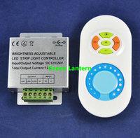 433MHz Brightness Adjustable Single Color LED RF Remote  Dimmer controller