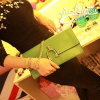 2013 brief vintage horseshoe buckle chain bag handbag cross-body women's handbag c-43