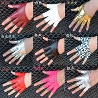 Women ds gloves cheerleading hip-hop jazz dance semi-finger gloves
