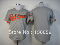 Free Shipping Cheapest 2013 New Men's Baseball Jerseys Baltimore Orioles Authentic Blank # Customized Jersey,Embroidery Logos