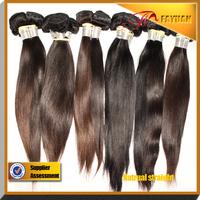 Hot beauty hair brazilian straight,100% human virgin hair 3pcs lot,Grade 5A,unprocessed hair