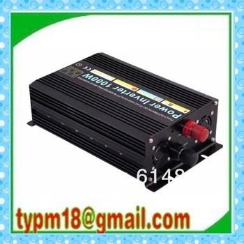 1000W Watts Peak Real 1000W 1000 Watts Power Inverter 12V DC to 230V AC for solar panel + Free shipping