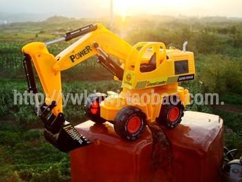 Remote control truck Hercules model truck toy excavator 6825s
