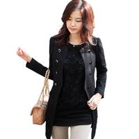 Spring outerwear 2012 autumn and winter slim medium-long outerwear spring and autumn women's trench female
