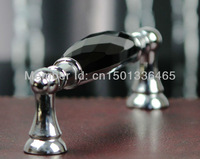 10 pieces/lot crystal handle high quality glass knobs and pulls drawer pulls modern entry doors
