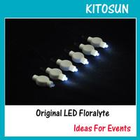 LED BALLOON LAMP LED ROUND LIGHT for Paper Lantern Wedding Floral Decoration LED Party Light for Paper Lantern --WHITE