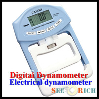 Health Tester Digital Dynamometer Hand Grip Power Meter with Comfortable grip feel Fitness & Body Building  Free shipping