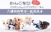 6pcs/lot New Arrivals dog dust Plug for  iPhone ipad Samsung htc, dog Anti Dust Earphone Plug Headset Stopper Cap,Free shipping