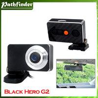 Model:Black Hero G2 1.3 Mega Pixel CMOS Single Lens 720p HD Drive Recorder (Black)