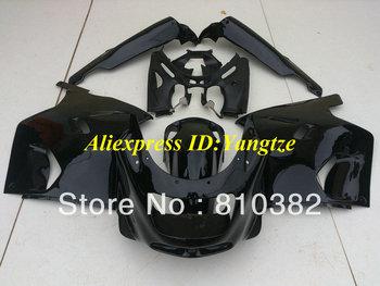 ABS Fairing kit for 1993 2003 KAWASAKI Ninja ZZR1100 93-03  ZZR 1100 1993-2003 ZX-11 ZZR1100D all gloss black fairings KS12