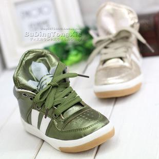 Boys brief 2012 shoes fashion breathable medium cut sneaker child single shoes skateboarding shoes