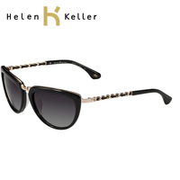 Helen keller new arrival fashion brief fashion large sunglasses h1327