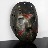 Free Shipping Resin Technology  masquerade party horror Halloween carnival Masks ,Jason freddy vs Jason mask