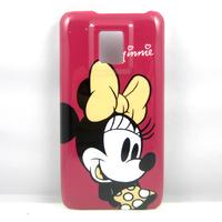 Cute Cartoon Minnie Hard Back Cover Case Skin Coating Pouch For LG OPTIMUS 2X P990