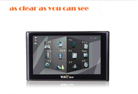 "2013 New HD 7"" inch Car GPS Navigation MTK bluetooth AV-IN  128MB MP3 FM 16GB Free Map WinCE 6.0 mini GPS tracking  FREE SHIPPIG"