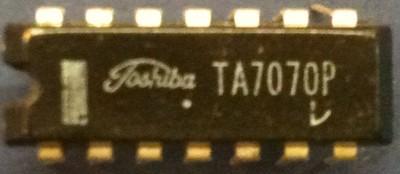 Toshiba TA7070P TV AFT System DIP14 TA7070(China (Mainland))