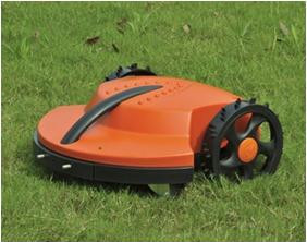 free shipping TC-G158 robot lawn mower, CE RoHS approved, lithium battery,  2 kinds cutting height, intelligent auto mower
