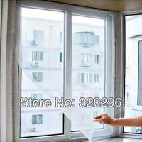 Fashion DIY self-adhesive mosquito screen window/  insect screen window