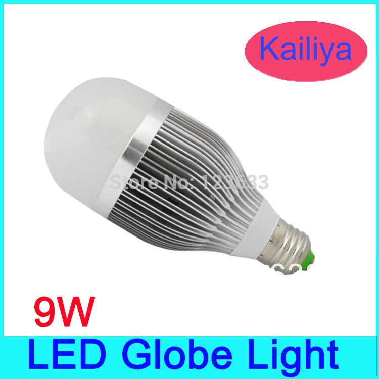 5pcs/lot Free shipping 9W LED Energy saving Globe Light,E27 Base LED Bubble bulb,Ball bulb,Warm white lighting,2 years warranty(China (Mainland))