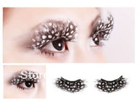Value money Bundle Monster New Make Up Deluxe Party Feather False Glamour Eyelashes 6 Pairs