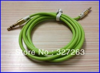 HH01228 color 3.5mm to 3.5mm plug audio cable for MD VCD DVD