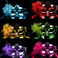 Free Shipping party masks 6color lilies Mask 10pcs/lot