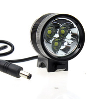 MarsFire M03 3*Cree XM-L T6 2300LM 4Modes Bicycle Light Led Flashlight Bike Light (4*18650 Battery Include) +Free Shipping