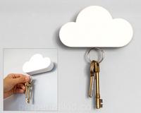 Cloud keyholder magnet clouds key storage device key hang