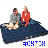 Intex68758 inflatable bed double inflatable mattress outdoor