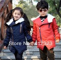 Retail+Prom baby children boy girls winter warm Windproof parka jackets coat outwear padding clothing
