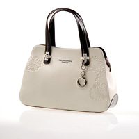 Fashion white collar women's handbag