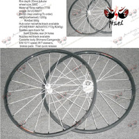 Free Shipping Road Carbon Clincher 700c Carbon Bike Wheel  Wheelset 8/9/10/11 speed Clear Coating Front  20 holes Rear 24holes