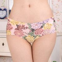 Free shipping 3 1 ultrafine nebuzaradan modal low-waist trigonometric summer panty underwear