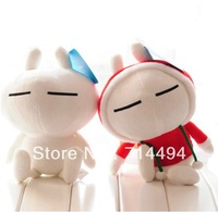 Cute cartoon rabbit Tuzki expression of the big pillow plush toy doll birthday gift free shipping