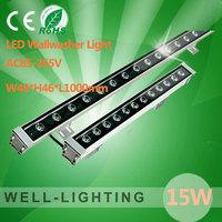15W LED Wallwash Light,high power led wall washer outdoor IP65,6pcs/lot,Warm white/White/RGB Color