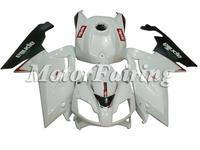 Fairing kit for Aprilia RS125 07-10 RS125 2007 2008 2009 2010 RS 125 07 08 09 10 ABS Plastic Press Mould White Black