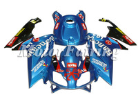 Fairing kit for Aprilia RS125 07-10 RS125 2007 2008 2009 2010 RS 125 07 08 09 10 ABS Motorcycle Fairings Blue Black