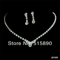 Cheap Free Shipping Necklace Jewelry Set for Pageant Gift JS125