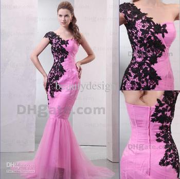 Custom Made! 2012 New Sexy Strapless Sleeveless floor Length Applique celebrity dresses END197