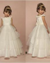 Female child skirt girls clothing child dress princess dress flower girl skirt wedding dress puff skirt