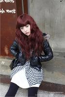 Factory Yiwu wholesale wigs fluffy corn hot Qi Liu Volume girls long curly hair cute hair simulation