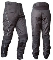 Free shipping Rain racing trousers with removable cotton bravery CE knee - professional waterproof three-layer motorcycle pants