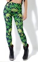 Good Quality BL-108 Galaxy Digital Printed Pants Black Milk Woah Dude 2.0 HWMF Leggings plus size clothes for womans S/M/L/XL