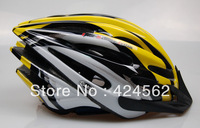 2013 free shipping   bike cycling helmets super light sport bicycle helmets 6 color size M/L adultbicycle helmet road +color box