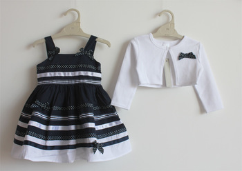 girl dress with cardigan branded girl dress girls wear kids/children dress