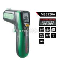 New MS6520A non-contact Infrared Thermometer compared w/ FLUKE F59 -4F-572F warr