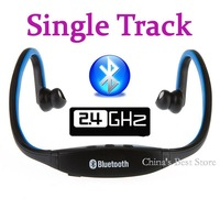 Hot!! Sports Wireless Bluetooth Headset Headphone Earphone for Cell Phone PC Blue Free / Drop Shipping