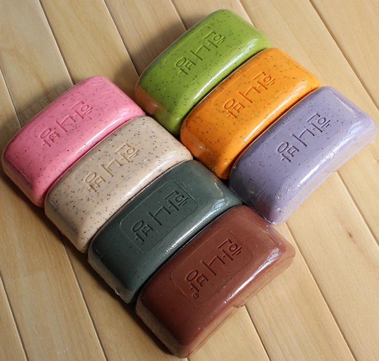 5 bathsite volcanic mud soap grey soap natural revitalizing soap(China (Mainland))
