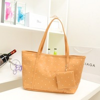 Bags 2013 female bags vintage dot bag fashion polka dot handbag large bag